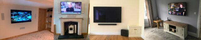 various tv installs